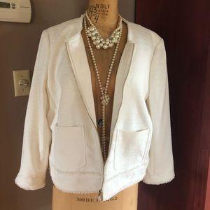 White Ann Taylor Jacket